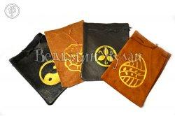 Мешочек кожаный для Таро и Рун в ассортименте