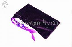 Мешочек для Таро и Рун  темно-фиолетовый