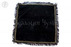 Алтарная скатерть черная с бахромой
