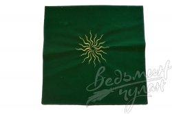 Алтарная скатерть Солнце зеленая