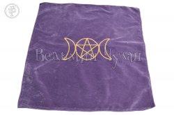 Алтарная скатерть Триединая богиня фиолетовая