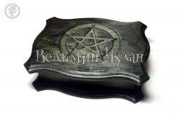 Шкатулка магическая Пентаграмма