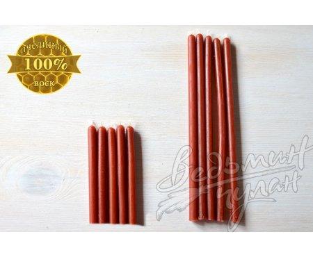 Свечи красные восковые упаковка 50 шт.