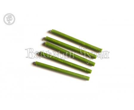Зеленые свечи восковые 60 мин.