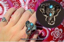 Кольцо Индийский Слон