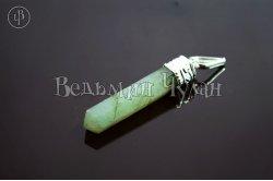 Кулон кристалл Авантюрин зеленый